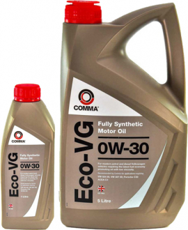 ECOVG1L COMMA Масло моторное Comma Eco-VG 0W-30 (1 л)