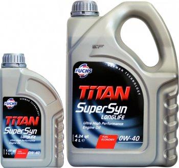 500326068 FUCHS Масло моторное Fuchs Titan Supersyn Long Life 0W-40 (1 л)