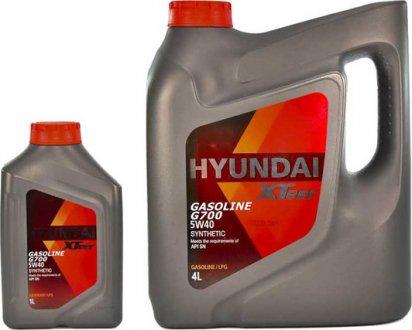 1011136 MOBIS Масло моторное Hyundai / Kia XTeer Gasoline G700 5W-40 (1 л)