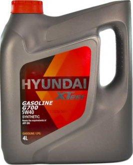 1041136 MOBIS Масло моторное Hyundai / Kia XTeer Gasoline G700 5W-40 (4 л)