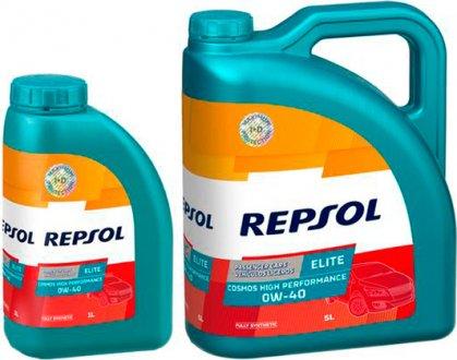 rp141g51 Repsol Масло моторное Elite Cosmos High Performan 0W-40 (1 л)