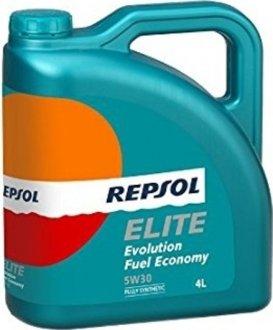 rp141p54 Repsol Масло моторное Elite Evolution Fuel Economy 5W-30 (4 л)