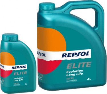 rp141q55 Repsol Масло моторное Elite Evolution Longlife 5W-30 (5 л)